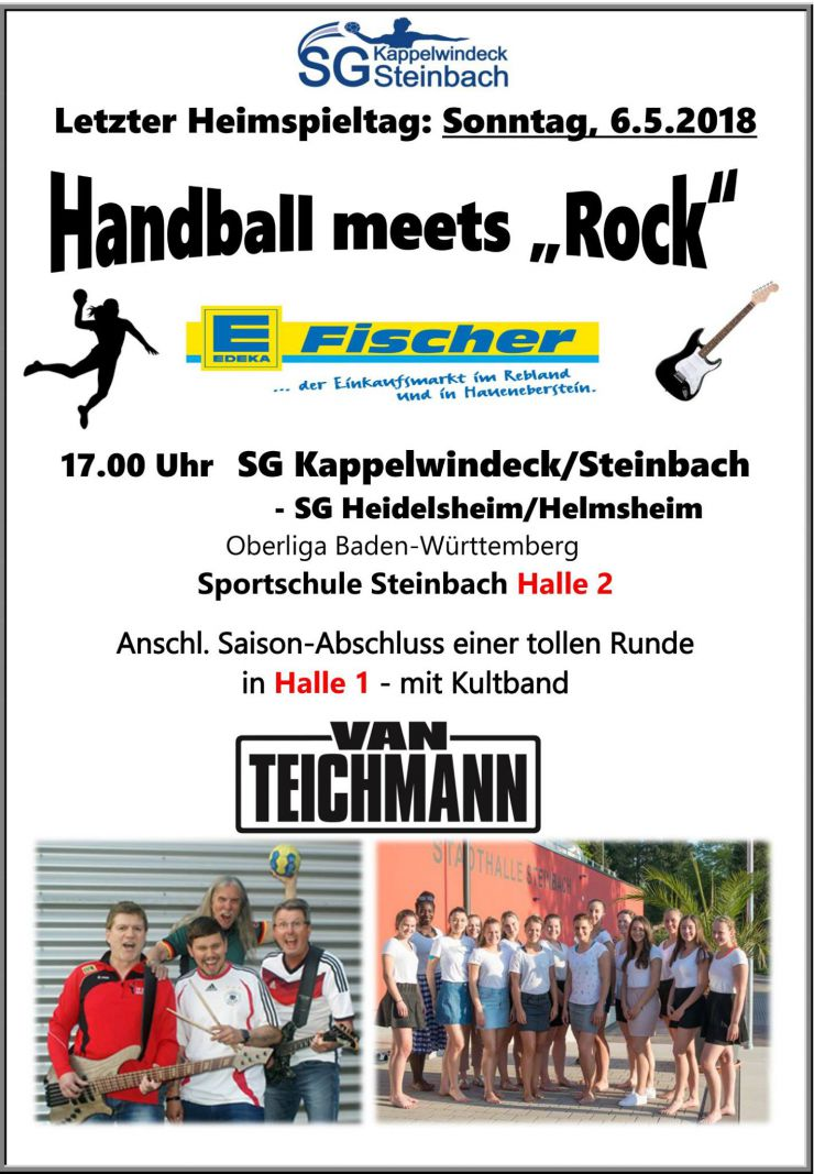 Handball meets Rock